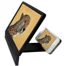 8,2-Дюймовый увеличитель экрана телефона из пластика кронштейн для мобильного телефона подставка для телефона - Чёрный