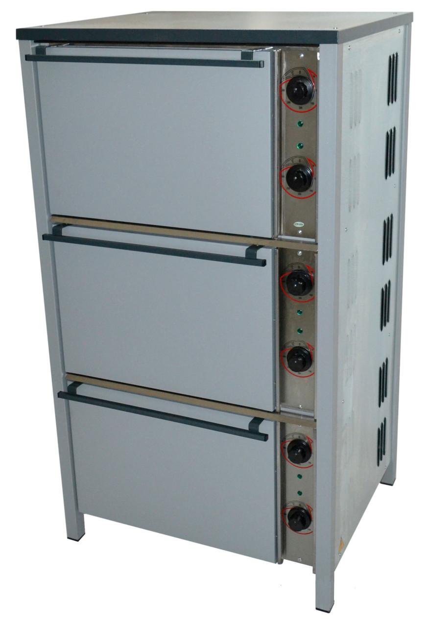 Шкаф жарочный трехкамерный ШЖЭ-3