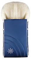 Зимний конверт Наталка NT-012  синий (снежинка)