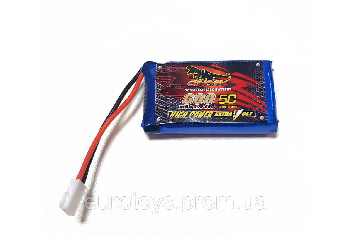 Аккумулятор для Eachine QX90 Dinogy Li-Pol 600 мАч 3.7 В 44,5x25x9 мм Walkera/Hubsan 65C
