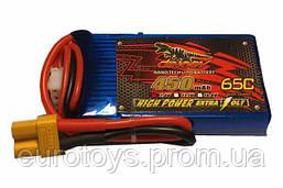 Аккумулятор для радиоуправляемой модели Dinogy Li-Pol 450 мАч 7.4 В 53x30x11,5 мм XT30 65C