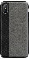 Чехол-накладка Rock TPU+PU Origin Pro Series Case Apple iPhone X Black