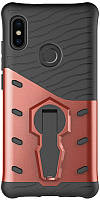 Чехол-накладка TOTO Sniper Case 2 in 1 Phone Case Xiaomi Redmi Note 5 Pink