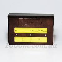 Козырек для почтового ящика-отчет
