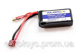 Аккумулятор Li-pol 1000mAh 3S 11.1V VolantexRC (V-3S1000)