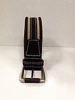 Ремень мужской кожаный комбинированный, фото 1