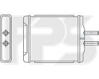 Радиатор печки Chevrolet Epica (Шевроле Эпика) 06-11/EVANDA 03-06 производитель NISSENS