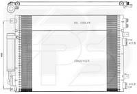 Радиатор кондиционера Chrysler / Крайслер 300C 05-11 производитель NISSENS