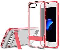 Чехол-накладка Rock TPU+PC Case Royce Series Kickstand Active iPhone 7 Plus Rose Red, фото 1