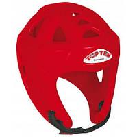Шлем для кикбоксинга  TOP TEN красный