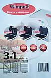 3 в 1 Гриль, бутербродница, вафельница Wimpex Wx1057, 750Вт, фото 5