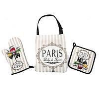 Набор для кухни Lefard Париж (фартук,прихватка,рукавичка) 002HT