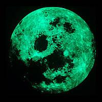Светящиеся наклейки Луна и Звезды (53686098)