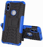 Чехол-накладка TOTO Dazzle Kickstand 2 in 1 Case Xiaomi Redmi S2 Blue