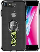 Чехол-накладка Rock TPU+PC MOC Pro Series Protection Case Apple iPhone 8/7 Trans-Black