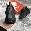 Мужские Кроссовки Nike Air Max 95 Sneakerboot Dark Brown Black, фото 3