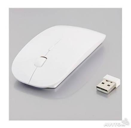 Беспроводная мышка Apple белая КАЧЕСТВО!, фото 2
