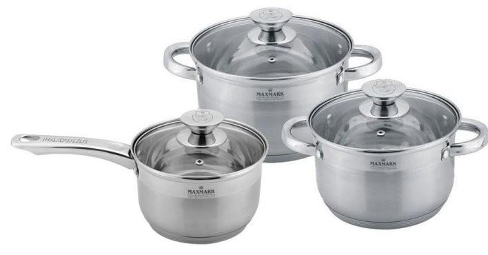 Набір посуду 6 предметів Maxmark MK-3506D