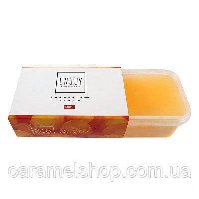 Парафин косметический для парафинотерапии Enjoy Peach - Персик  500 мл