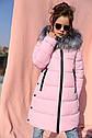 Пальто детское ТМ Nui Very Викки Размеры 116- 158, фото 4