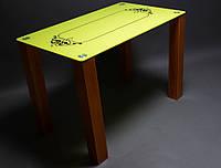 """Стол стеклянный """"Посредник""""  стол для гостинной или кухни"""