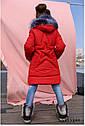 Пальто детское зимнее Вики ТМ Нуи Вери - Размеры 116, фото 3