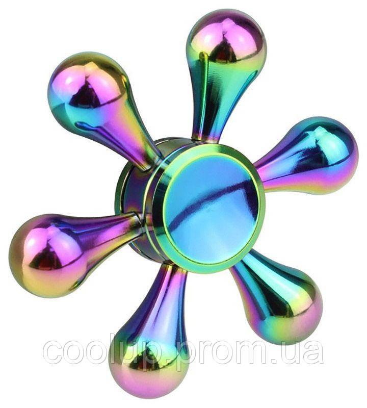 Спиннер TOTO Metal Flower Rainbow