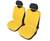 Защитные чехлы-майки на сидения Shirt Cotton, 2 шт желтые