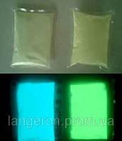 Пигмент флуоресцентный люминофор 100г светящаяся светонакопительный порошок