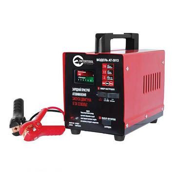 Автомобільне зарядне пристрій для АКБ INTERTOOL AT-3013