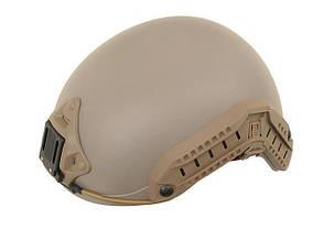 Шолом страйкбольний Fma Fast Ballistic Helmet Dark Earth L/XL