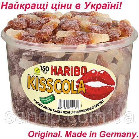 Желейные конфеты Бутылочка Кисс-Кола Харибо  Haribo  1350гр.150шт., фото 2
