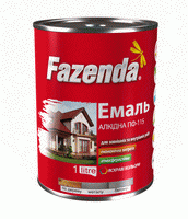 Эмаль алкидная ПФ-115 Fazenda вишнёвая 2.8 кг