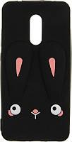 Чехол-накладка TOTO Silicon Сartoon Network Rabbit Case Xiaomi Redmi 5 Black, фото 1
