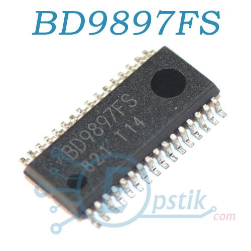 BD9897FS, мікросхема управління інвертором, SSOP32