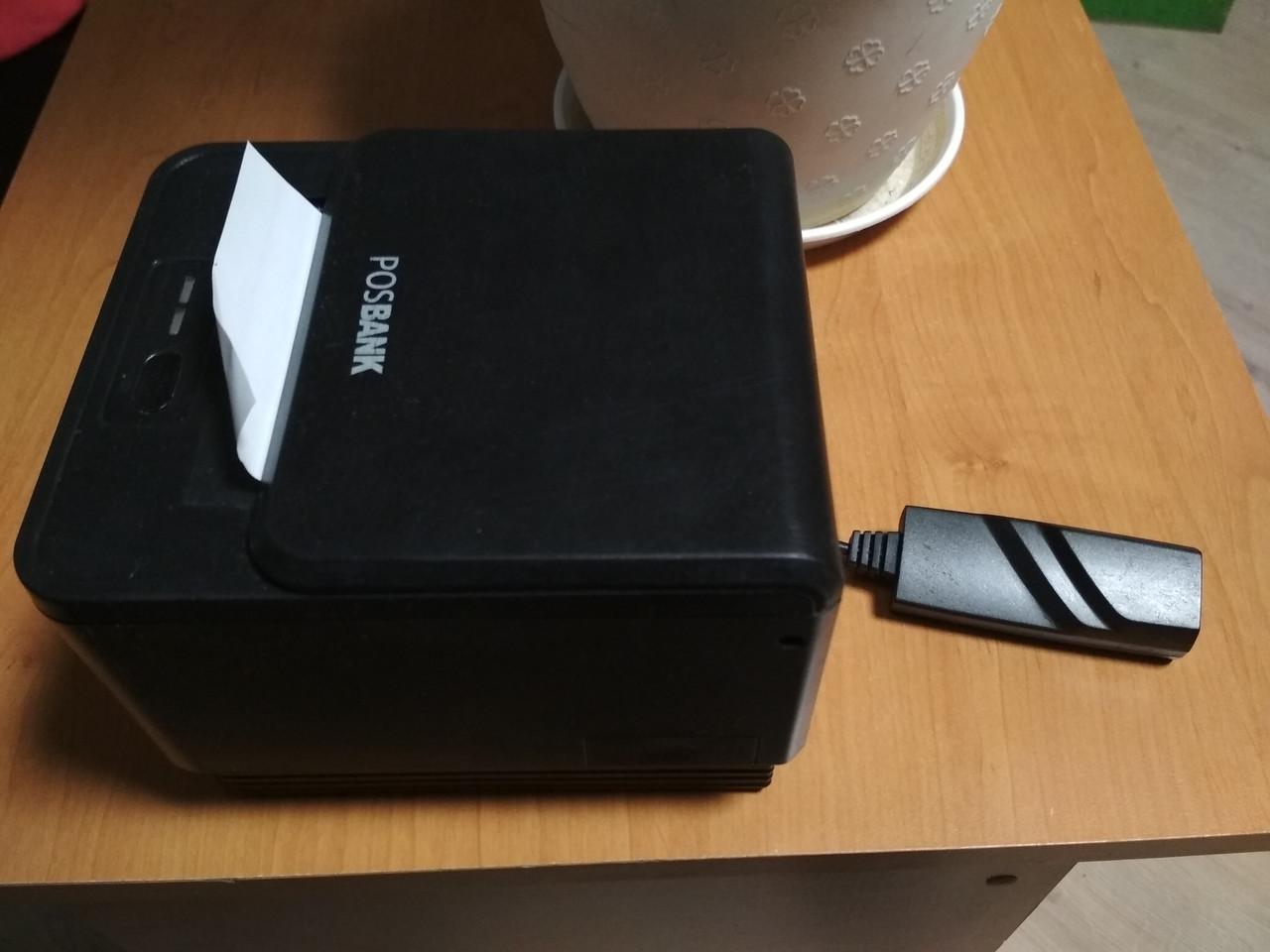 Термопринтер чеков  POSBANK A7 Ethernet б/у