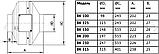 Вентилятор канальный оцинкованный ВК 200, фото 3