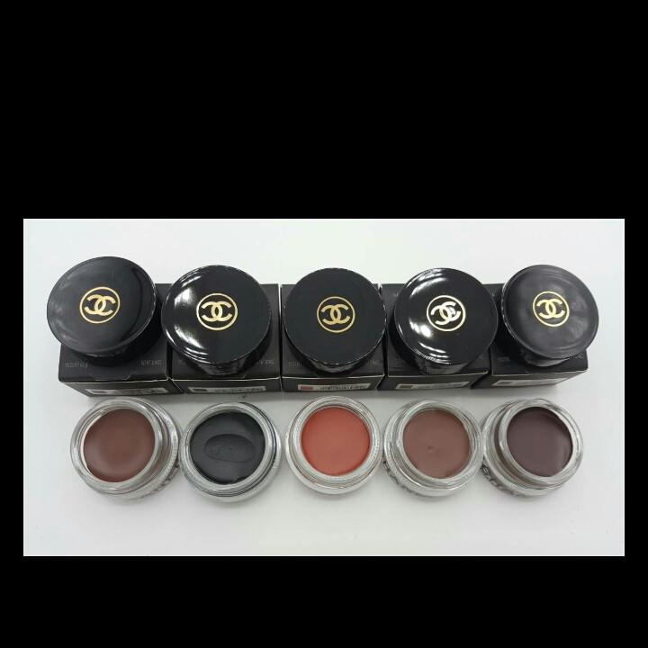 Набор гелевых подводок Chanel la palette sourcils de chanel dibrow 5 цветов