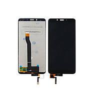 Дисплей для XIAOMI Redmi 6/6A с чёрным тачскрином