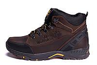Мужские зимние кожаные ботинки Jack Wolfskin, фото 1