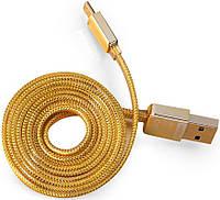 Кабель Remax Golden Micro-USB 1m Gold, фото 1