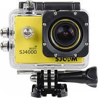 Экшн-камера SJCAM SJ4000 Wi-Fi Yellow, фото 1