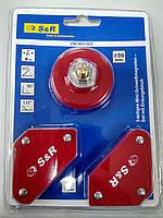 Магнитная струбцина для подготовительно-сборочных работ перед сваркой 50мм,4кг