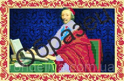 Схема для вышивки бисером «Кардинал Ришелье»