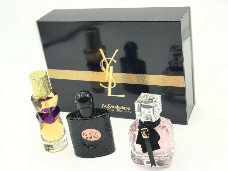 Подарочный набор женской парфюмерии YSL 3 в1