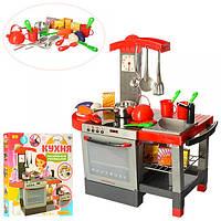 Детская кухня с духовкой, посудой аксессуарами, световыми и звуковыми эффектами, 011