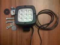 Фара универсальная (MM), 9 светодиодов, с лампой и креплением