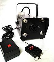 Дым машина с LED подсветкой RGB(W) 400 Вт, пультом ДУ и кнопкой