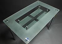 """Стол стеклянный """"СК-3"""" стол для гостинной или кухни"""