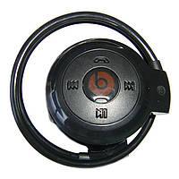 Спортивные беспроводные Bluetooth наушники с MP3-плеером Mini-503 TF Красный